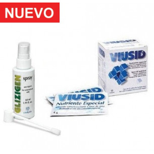 Pack Glizigen Spray+ Viusid sobres