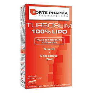 TurboSlim 100% Lipo 30 capsulas Forte Pharma