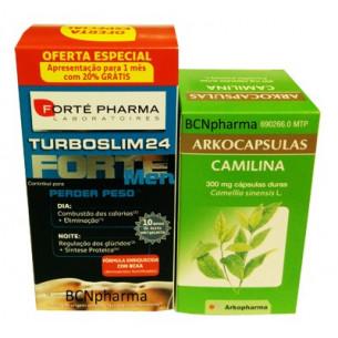 Pack ahorro TurboSlim FORTE 56 hombre + Camilina 200