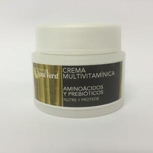 Spai Verd Crema multivitamínica AMINOÁCIDOS Y PREBIÓTICOS 50 ml