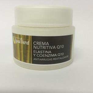 Spai Verd Crema nutritiva Q10 ELASTINA y COENZIMA Q10 50 ml
