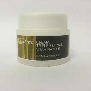 Spai Verd Crema Triple Retinol, Vitamina C y E 50 ml