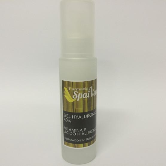 Spai Verd Gel hyaluronic 40% ÁCIDO HIALURÓNICO 50 ml