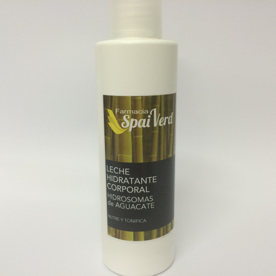 Spai Verd Leche hidratante corporal HIDROSOMAS DE AGUACATE 250 ml