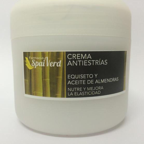 Spai Verd Crema antiestrías EQUISETO y ACEITE DE ALMENDRAS 250 ml