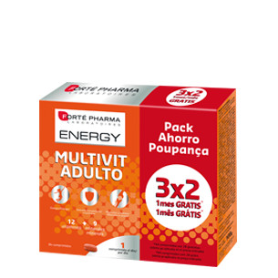 Forté Pharma Energy Multivit Adulto 84 compr. 3 x 2.