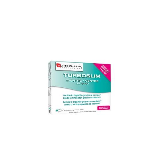 TurboSlim Vientre Plano de 56 cápsulas de Forte Pharma