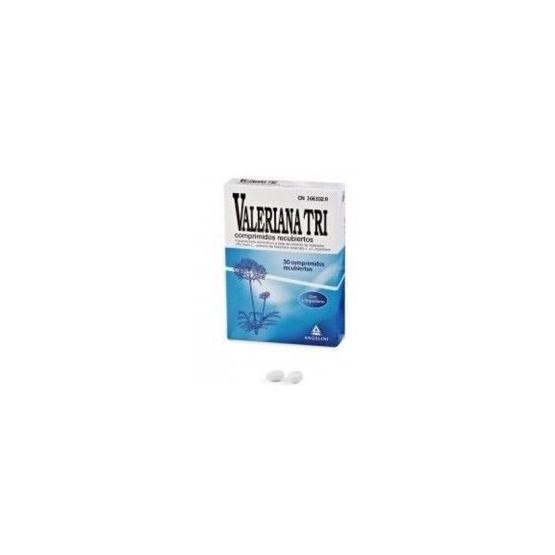 Valeriana TRI 30 comprimidos (con L-triptófano)