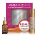 Sesderma Pack Acglicolic Serum 30ml + C-VIT luminous Fluid Radiance 50 ml