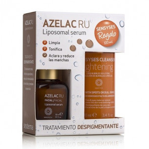 Sesderma Pack Azelac RU Serum + Sensyses Cleanser limpiador 100ml.