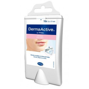 DermaActive Cold sores and fever 16 patches. (+ Forceps)