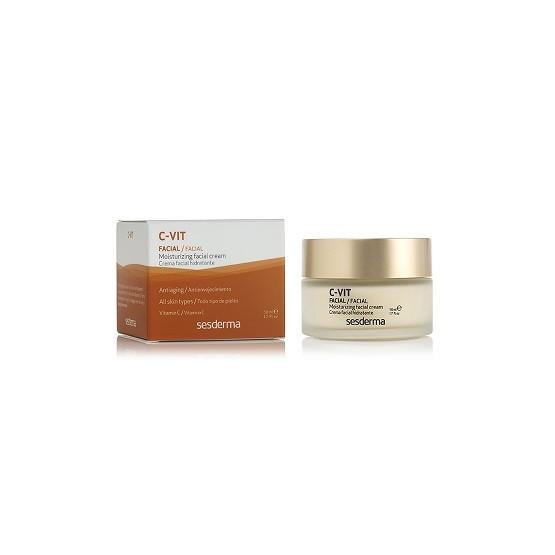 Sesderma C VIT Crema Facial Hidratante 50ml. Con Vitamina C