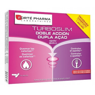 Forte Pharma Turboslim Double action 56 capsules. (1 month)