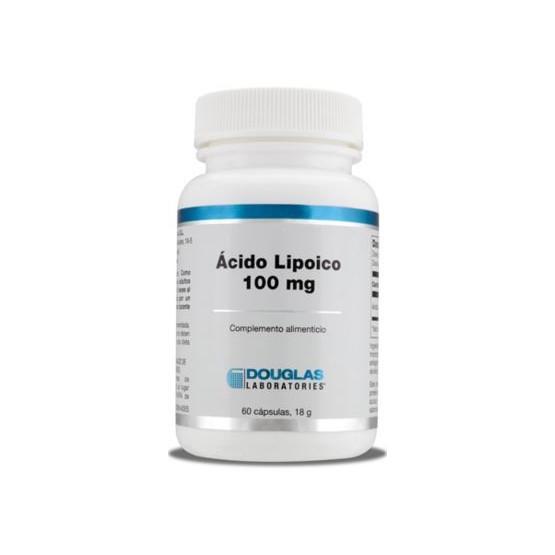Douglas Ácido Lipoico 100 mg. 60 cápsulas