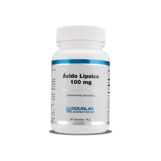 Douglas Lipoic Acid 100 mg. 60 capsules