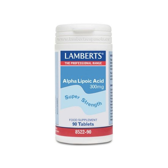 Lamberts Alpha Lipoic Acid 300mg 90 tablets (thioctic acid)