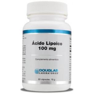 Douglas R lipoic acid 100 mg. 60 vegetarian capsules.
