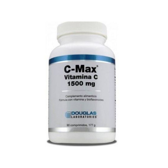 Douglas C-Max Vitamin C 1500 mg. 90 extended-release tablets
