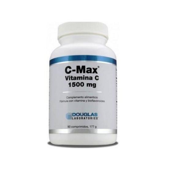 Douglas C-Max Vitamina C 1500 mg. Liberación prolongada 90 comprimidos