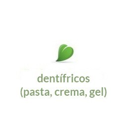 dentífricos (pasta, crema, gel)